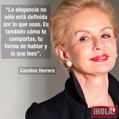 #FelizMiércoles #CarolinaHerrera #Quotes #Frases Carolina Herrera, Sparkly Shoes, Truth Quotes, Life Motivation, Fashion Quotes, Attitude Quotes, Girl Power, Quotations, Inspirational Quotes