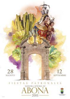 28 de agosto – 12 de septiembre.  Fiestas de Nuestra Señora de Abona 2015 en Arico; el municipio celebra sus fiestas patronales con una agenda de actos culturales, religiosos y deportivos muy completo.