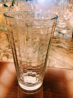 Mixing glasses from Hospitality glass brand