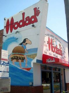 Hodad's Burgers in San Diego, CA -- Need to Take Trevor -- Used to Go There All the Time!