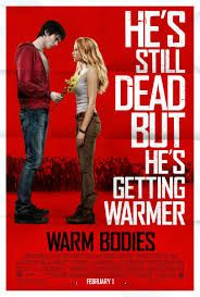Warm Bodies Directed by Jonathan Levine. Based on the novel by Isaac Marion. Starring Nicholas Hoult, Teresa Palmer, and Analeigh Tipton. Nicholas Hoult, John Malkovich, Teresa Palmer, Love Movie, Movie Tv, Movie List, Warm Bodies Movie, Movies Showing, Movies And Tv Shows