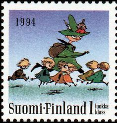 #Finish stamps //Finland stamp
