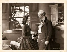 GORGEOUS VIVIEN LEIGH & LESLIE HOWARD in GONE WITH THE WIND RARE ORIGINAL PHOTO in Female | eBay