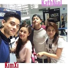 they are on their way here to the U.S ❤️ OMG guys I'm meeting Kimxi for the 2nd time and KATHNIEL FOR THE 1st  CANT WAIT ❤️ #kathniel#kimxi#kimchiu#xianlim #kathrynbernardo#danielpadilla #onemagicalnight - © // owner @kathniel.loveteam @kayla.santella ✨