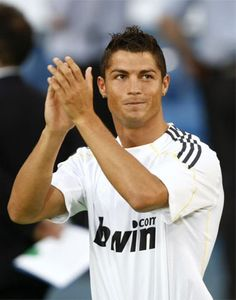 Cristiano Ronaldo, pretty much the best player in the world. Lionel Messi WHO?