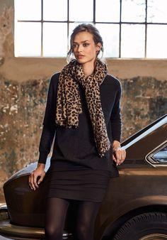 4960c9ebbd hush Leopard Cashmere Scarf Leopard Scarf