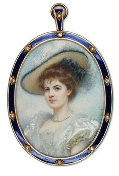 A Private Portrait Miniature Collection: 19th Century Miniatures 1851-1900