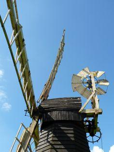 Wind Pump, Museum of East Anglian Rural Life, Stowmarket, Suffolk