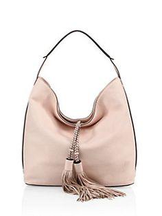 d3785114d Rebecca Minkoff - Isobel Leather Hobo Sapatilhas, Sapatos, Bolsas De Ombro  Rosas, Bolsas