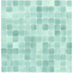 Elida Ceramica 12-in x 12-in Artic Green Glass Wall Tile