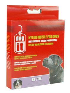 Dogit Nylon Dog Muzzle -- Awesome dog product. Click the image : Dog muzzle
