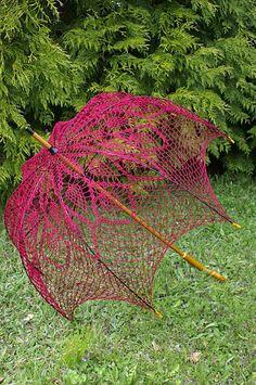 Crochet+umbrellas | Kotka 's crochet umbrella