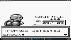 I own a Win10 phone but I decided to try an older Pokemon anyway. This is what's happened so far! (Pokemon Red)