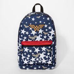 4881b462a5f0 Wonder Woman Stars Kids  Backpack - Navy. Girl ClosetNavy OnlineKids BackpacksWonder  WomanDc ComicsLunch BagsAmazonsFlorenceNavy Blue