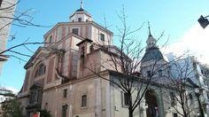 Iglesia San Sebastián.  Madrid.  España.