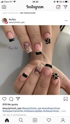 Best Acrylic Nails, Acrylic Nail Designs, Nail Art Designs, May Nails, Love Nails, Gorgeous Nails, Pretty Nails, Really Cute Nails, Elegant Nail Designs