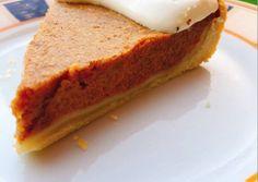 Παραδοσιακή αμερικάνικη κολοκυθόπίτα  - American pumpkin pie