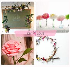 DIY flower creations are a great summer activity.
