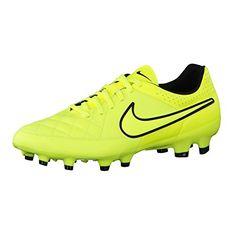 Nike Tiempo Genio Leather FG Fussballschuhe volt-volt-hyper punch-black- 40,5 - http://on-line-kaufen.de/nike/40-5-eu-nike-tiempo-genio-fg-herren-fussballschuhe-3