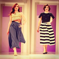 Anna and Morgan from the editorial staff strut their stuff at Wine, Women and Shoes 2015. Photos by Tom Gilbert. Anna's wardrobe from Rope with shoes from Miss Jackson's, Morgan's ensemble from On A Whim. #moxiecouture #winewomenandshoes #wws2015 #ywcatulsa #fashionshow #runway #model #rolemodel #fundraiser #tulsa
