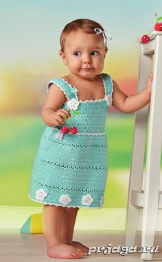 Children's crochet sundress