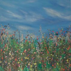 'Shimmering Summer Meadow'  Hot days in the Sunshine.....
