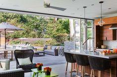 LEED Gold gambrel house in Massachusetts feels like a retreat