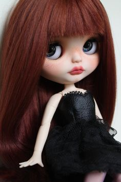 Adeline Custom Blythe Doll OOAK Art Doll by NDsDazzlingDollys