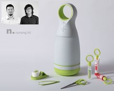 Nursing Kit : The Next Generation of Family First Aid Kit by Sheng-Hung Lee and Yu-Lin Chen