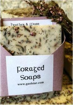 #Foraged Wild Irish #Heather & #Moss #Soap by WildIrishSoaps on #Etsy