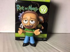 Funko Mystery Minis Rick and Morty JERRY SMITH 1/12 Vinyl Figure New In Hand  | eBay