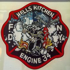 FDNY ENGINE 34..... 38TH STREET MUTTS