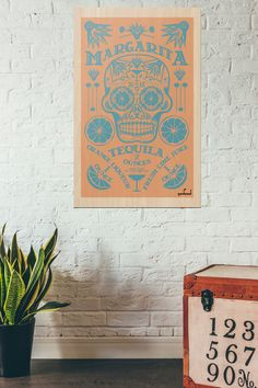 A personal favorite from my Etsy shop https://www.etsy.com/listing/468885410/dia-de-los-meurtos-print-day-of-the-dead