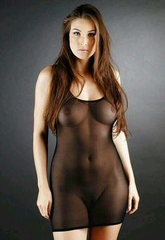 Animal nude Transparent pussy dress