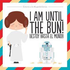 ¡Hasta el moño de Star Wars a lo #Superbritánico!