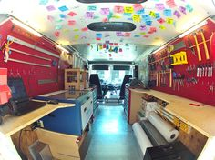 "1 | SparkTruck: A ""Bookmobile"" That Brings Rapid Prototyping to School Kids 