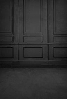 Black Grunge Vintage Door Backdrop UK For Photo Studio S-3164 - 10'W*20'H(3*6m)