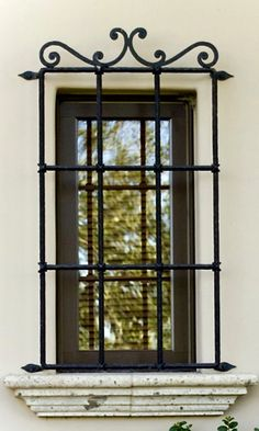 Tuscan style – Mediterranean Home Decor Window Design, Door Design, House Design, Home Window Grill Design, Iron Windows, Iron Doors, Iron Window Grill, Window Protection, Burglar Bars