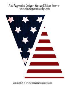 pennant-banner-stars-and-stripes-forever.jpg (1583×2048)
