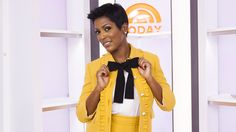 Tamron Hall's pussy-bow blouse had everyone talking on TODAY. Find out how you can sport the work-friendly look.