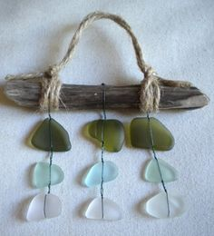 Seaglass ornament / Christmas ornament / Beach by BarnWoodArt