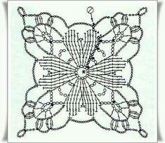 Transcendent Crochet a Solid Granny Square Ideas. Inconceivable Crochet a Solid Granny Square Ideas. Crochet Motif Patterns, Crochet Blocks, Crochet Mandala, Crochet Diagram, Crochet Art, Crochet Squares, Thread Crochet, Granny Squares, Crochet Designs