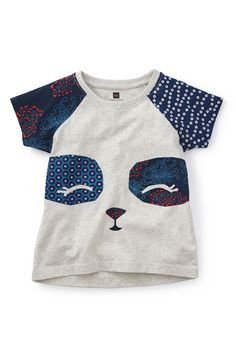 Tea Collection 'Giant Panda' Graphic Tee (Toddler Girls, Little Girls & Big…