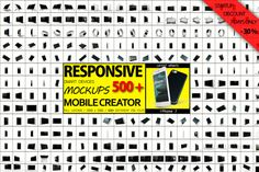 RESPONSIVE Smart Devices Creator by mockupstore.net on @creativemarket