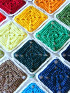 Annie's Place: Reversible Crochet Cushion Version 2