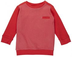 Rood shirtje baby - Dis une couleur