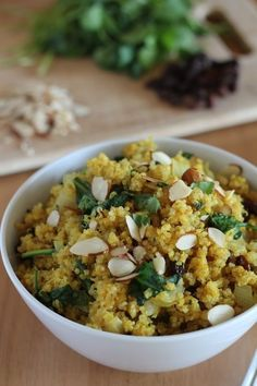 Curried Quinoa with Spinach and Almonds   17 Heart-Healthy Recipes That Actually Taste Great