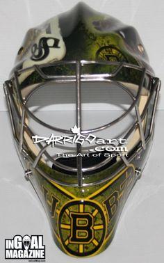 Malcolm Subban Boston Bruins 2013-14 Mask front