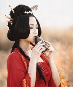 Tang Dynasty - amazing hairstyle