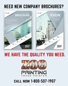 Good Quality Brochures are a must for a clean professional look that sells. Our printing quality will amaze you. Call to get a quote or sign-up online  1800-507-1907.  Zoo Printing Wholesale Printing. Sign Up Free Today! http://zooprint.us/6ISkL #Printing #GraphicDesigners #WholesalePrinting #ZooPrinting